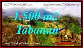 DIJUAL MURAH TANAH di TABANAN 15 Are di Tabanan Bedugul