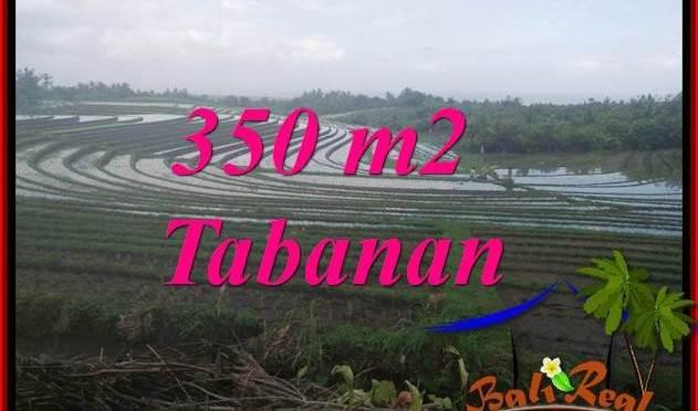 JUAL TANAH MURAH di TABANAN BALI 350 m2 VIEW LAUT DAN SAWAH
