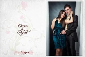 Sesion de estudio con Carmen y Rafael,