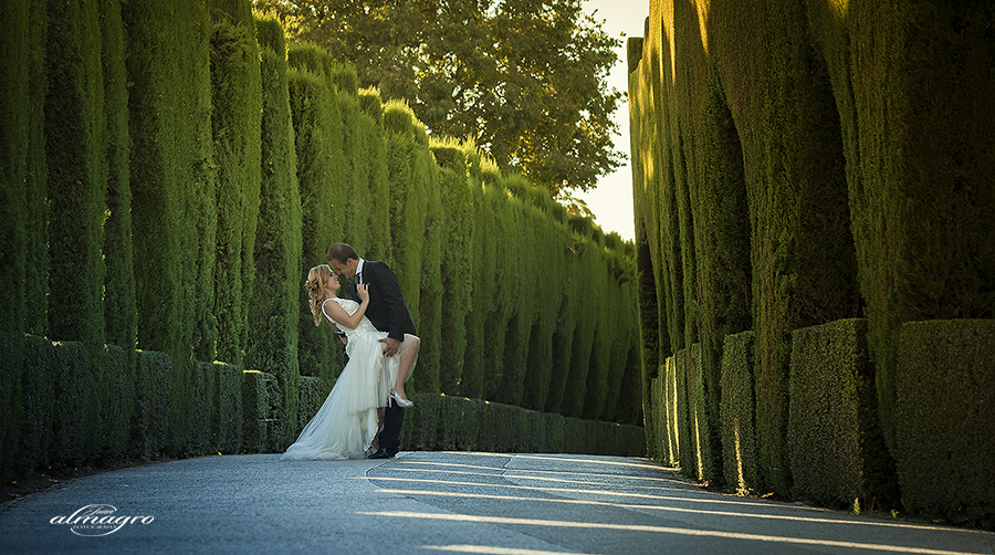 Trash the dress, postboda o Post-boda Love the dress  o reportaje fotografico con novios en la alhambra