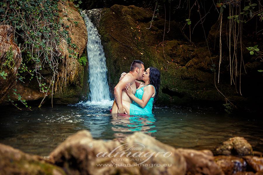 Sesión de fotos para el libro de Firmas de boda de Juani & Manuel