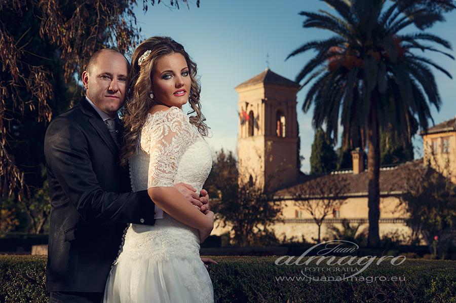Vestido de Novia y Traje de Novio, fotos de postboda, Jaen de boda.