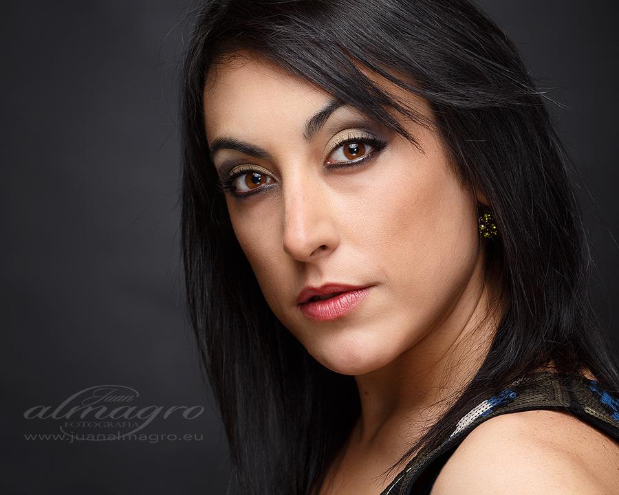 sesión de fotos en estudio book personal fotografia  por Juan Almagro