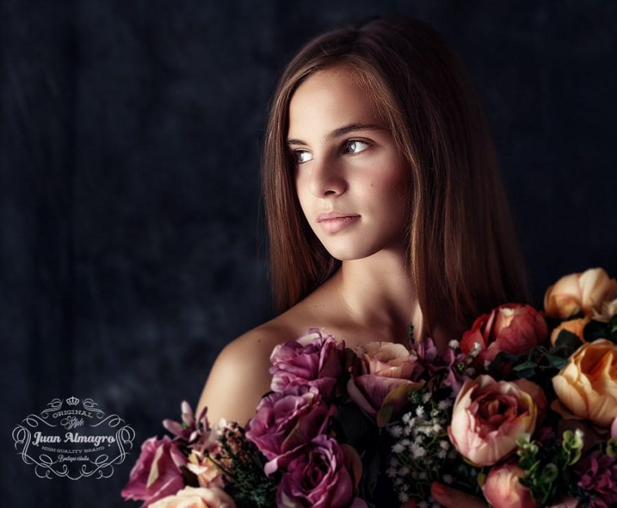 fotos de estudio para Ana en Juan Almagro Fotografos