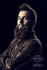 Retrato de estudio para Manuel Ramos