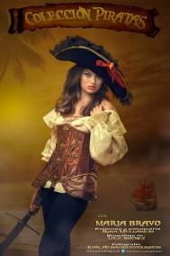 Sesiones de fotos estudio Colección Piratas de Juan Almagro Fotógrafos Jaén