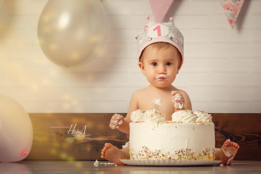 Smash Cake con Andrea