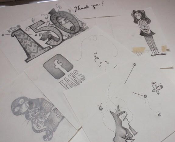 Lots of illustrations for one big Celebration