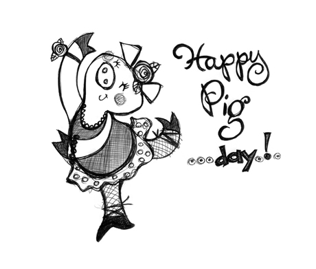 Happy-Pig day!