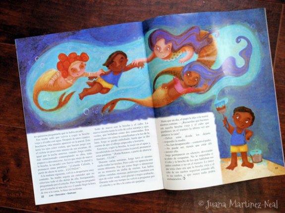 Iguana Magazine - Jorge, el Pintor de Sirenas