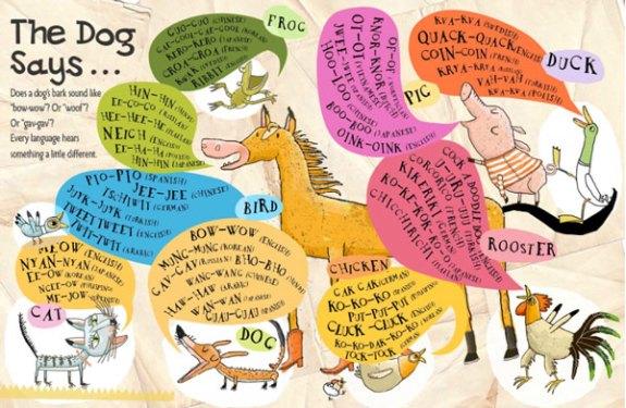The Dog Says - Carus Publishing 2013 - illustrated by Amanda Shepherd - Designer/Collaborator: Kim Carney