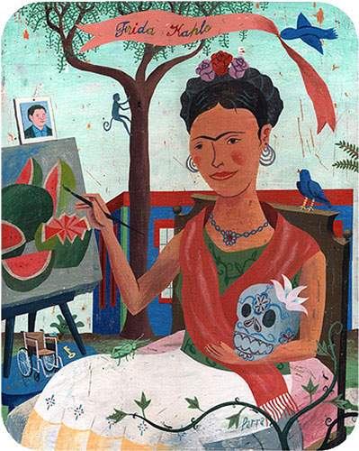 Friday Kahlo by John Parra