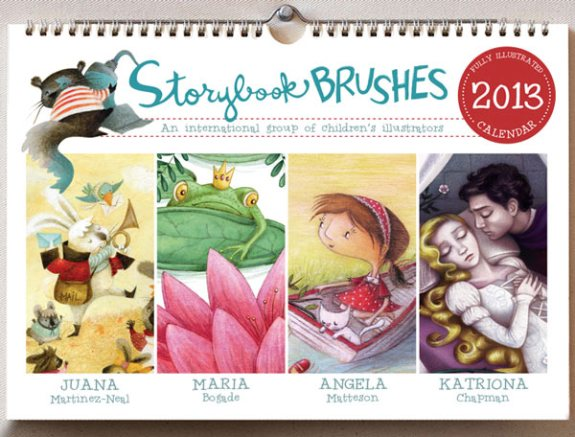 Storybook Brushes - 2013 Calendar