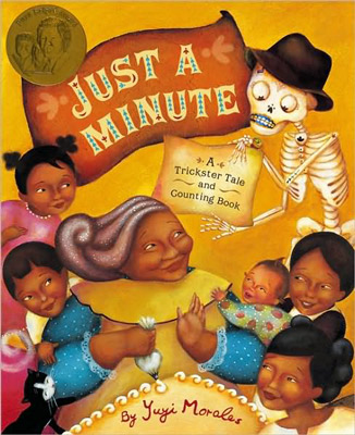 'Just A Minute' by Yuyi Morales