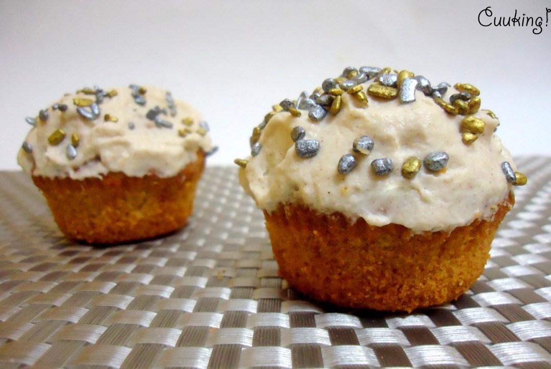 Cupcakes de leche merengada