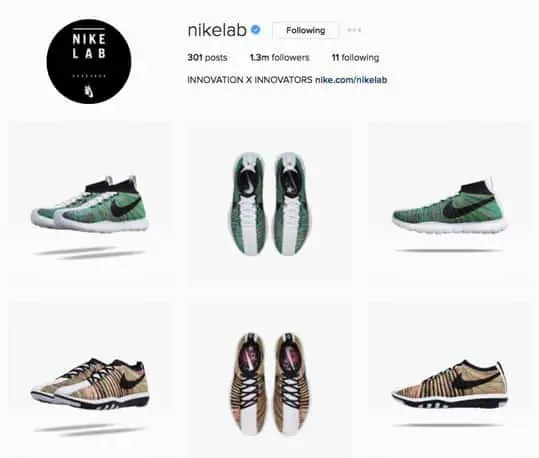 estrategia de marketing en instagram-nikelab