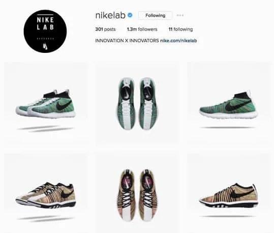 estrategia de marketing en instagram-nikelab