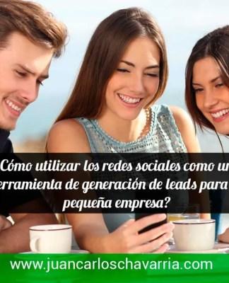 redes sociales para generar leads para su empresa