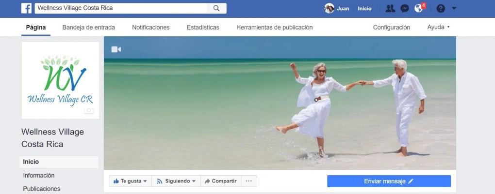portada y perfil de facebook