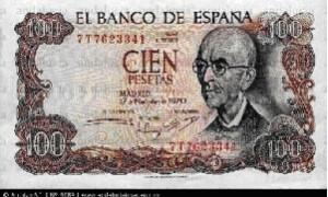 100 pesetacas