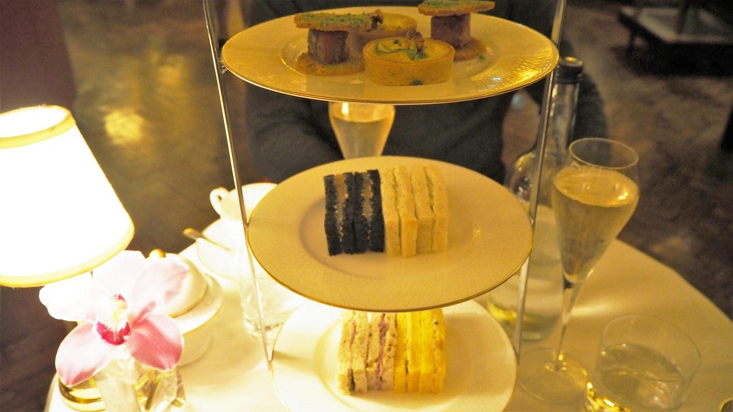 afternoon tea sandwiches hotel cafe royal