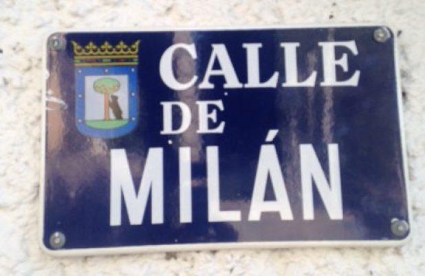 Madrid-Milán, en la calle.