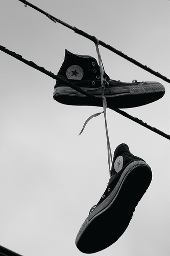 Shoe Tossing - Why? - Juan of Words