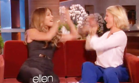 Jennifer Lopez Cameron Diaz deny on set drama what to expect when you're expecting