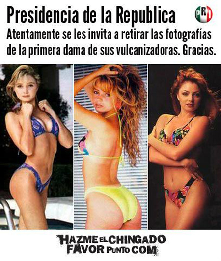Fotos en bikini de angelica rivera remarkable, rather