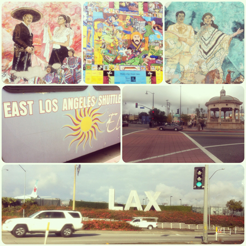 Texans in California Los Angeles City of Angels juanofwords
