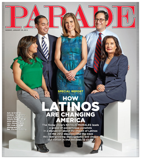 Starting This Sunday PARADE Magazine Promises More Latinos