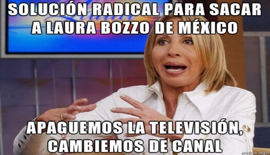 Their to Host Mexicans Talk Laura Call Leave Peruvian Show for Bozzo ZOukXPi