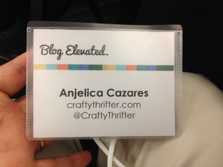 Blog Elevated Conference Review by Crafty Thrifter