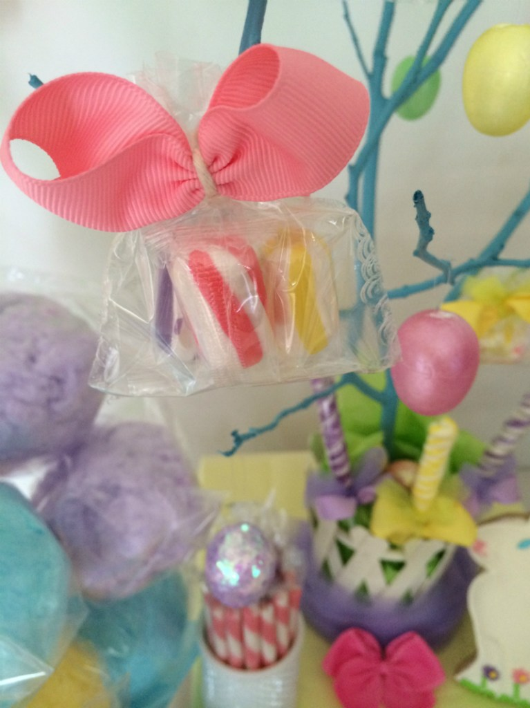 Thrifty Easter centerpiece