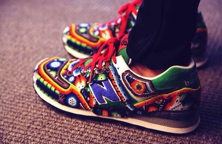 pretty nice 7278a 78502 Huichol-Inspired New Balance Sneakers by Mexican Designer ...