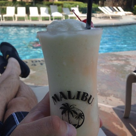 Sharable Moments: Oops… that's piña colada!