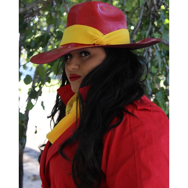 Dress Up For Halloween Carmen Sandiego Juan Of Words By