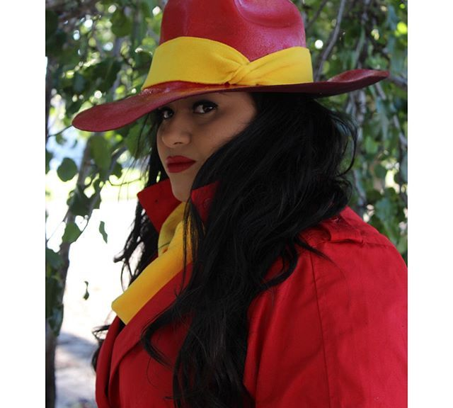 Dress up for Halloween: Carmen Sandiego