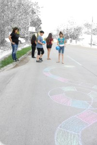 Sidewalk Family Board Game