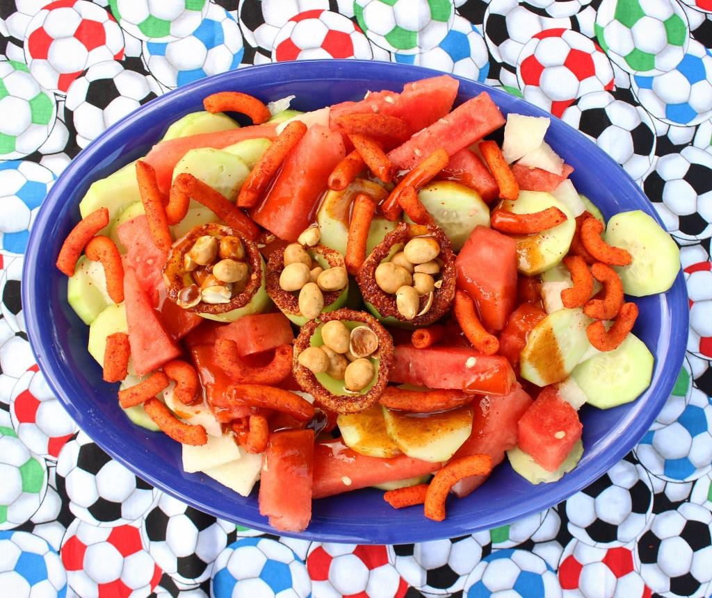 Mexican Cucumber Fruit Salad
