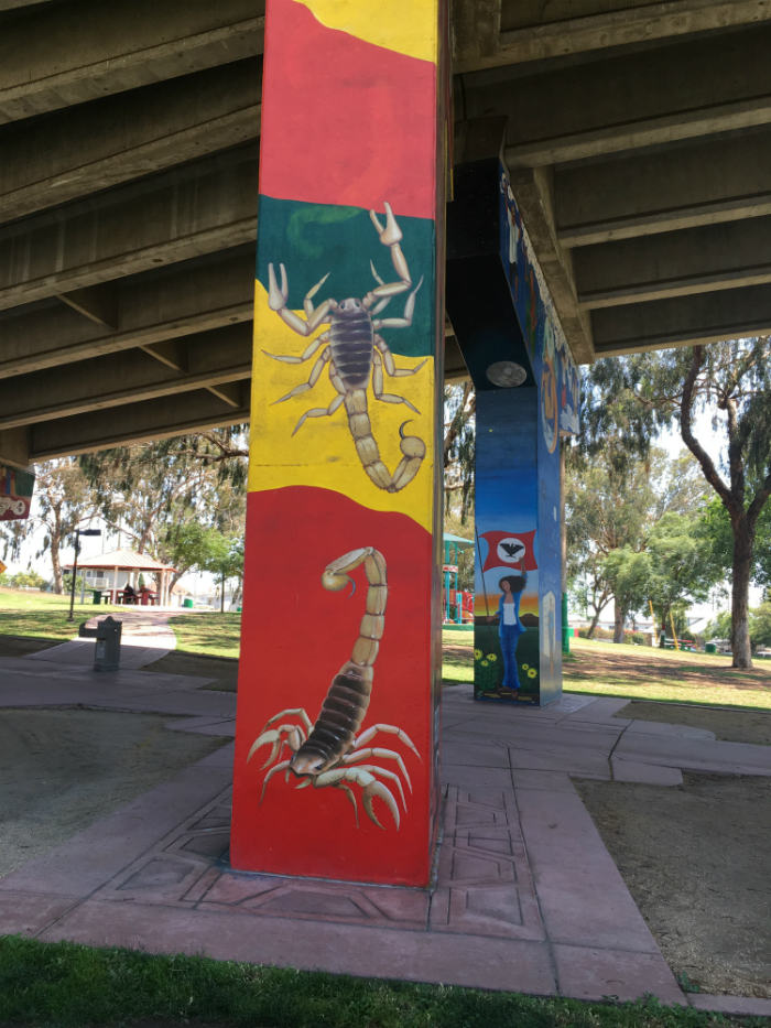 The beauty of Chicano Park