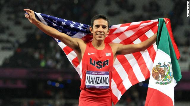 The story of the Olympic athlete with two flags