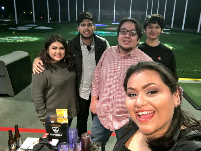 A Golf Adventure for the Familia