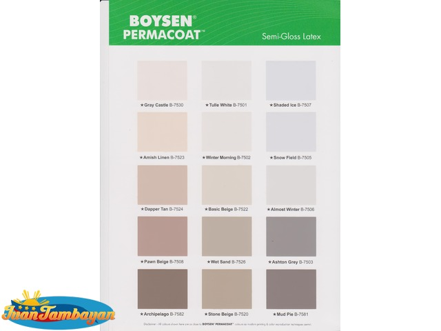 Color Paint Philippines Davies Chart