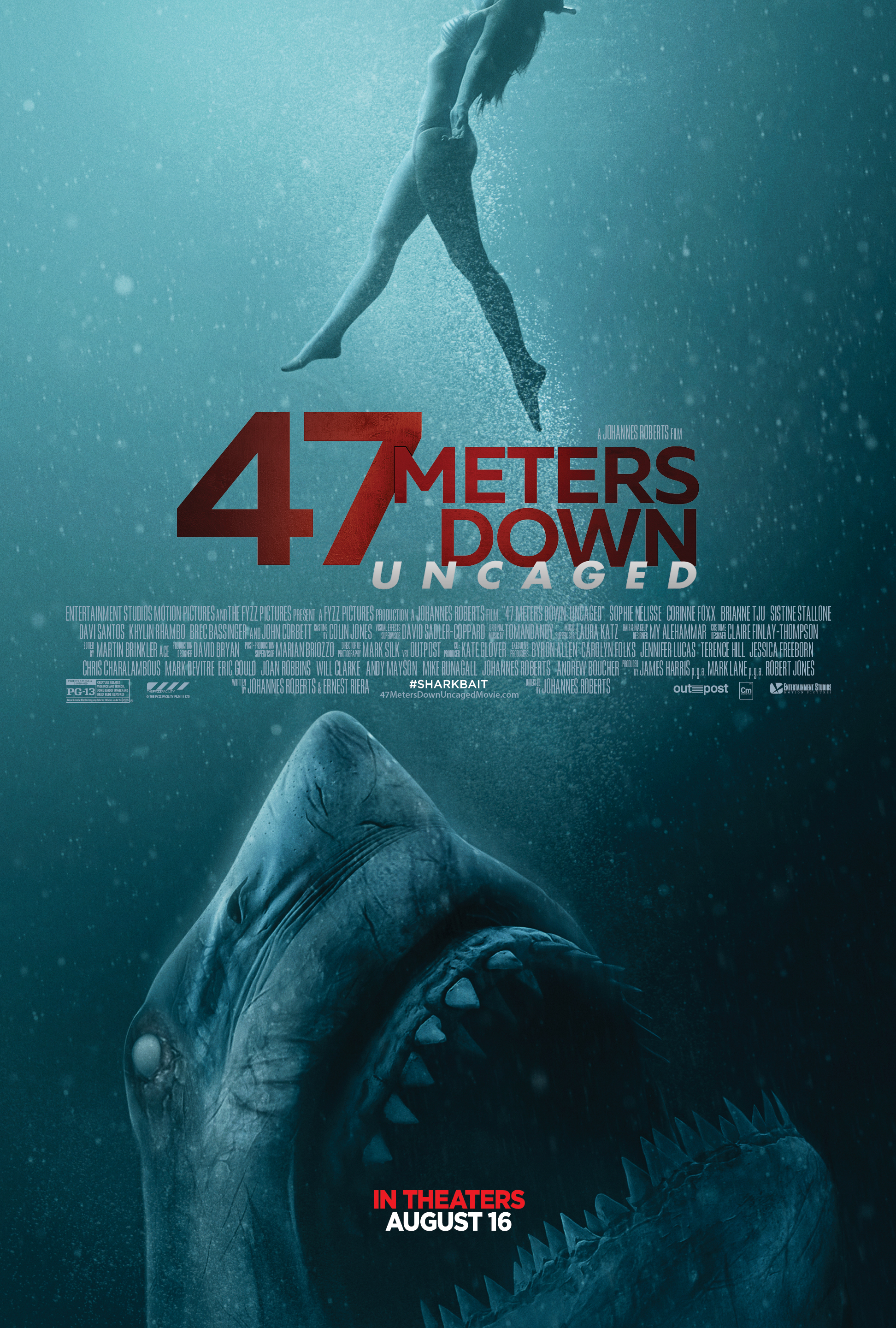 47 Meters Down Uncaged (2019) HD