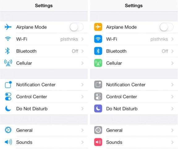 iOS 7 Beta 5 Cambios 1