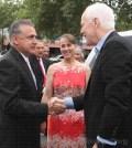 Recorren Senador Texano y Alcalde de El Paso el Centro Histórico de la ciudad