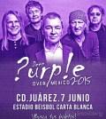 Deep Purple en Ciudad Juarez 2015