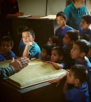 interes niños en cultura e historia