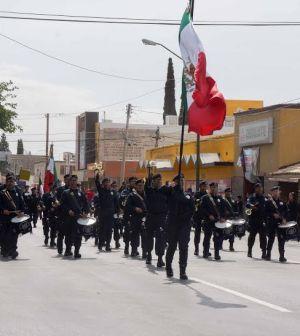 Conmemoran con Desfile Aniversario de la Batalla de Puebla